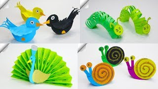 6 DIY Paper Crafts  | Paper Toys