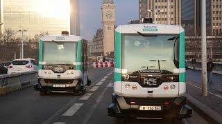 По Парижу впервые пустили беспилотные автобусы (новости)