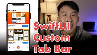 SwiftUI How to create Custom Tab View with Tab Bar