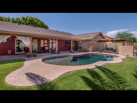 Mesa, AZ Home For Sale: 4 Bed 2 Bath Remodel Ranch Home w/ Pebble Tec Pool No HOA!