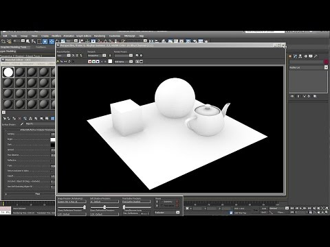 3ds Max tutorial Rendering Ambient Occlusion with Mental Ray
