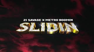 Musik-Video-Miniaturansicht zu Slidin' Songtext von 21 Savage & Metro Boomin