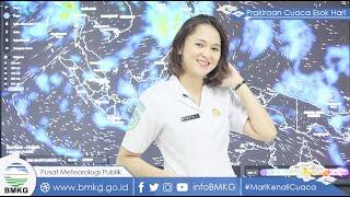 Prakiraan Cuaca Jumat 11 Juni 2021: 16 Wilayah Ini Diprediksi akan Hujan Lebat Disertai Angin