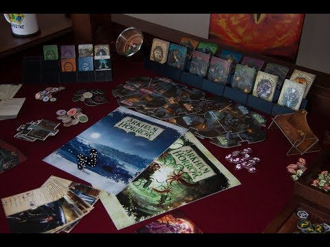 CBK Gaming Review Arkham Horror (3rd Edition)