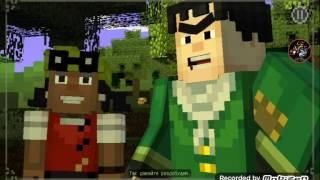 Lp:прохождение игры minecraft story mode #2