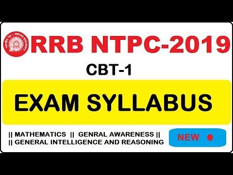 RRB NTPC 2019 General Awareness Syllabus Analysis in Telugu by