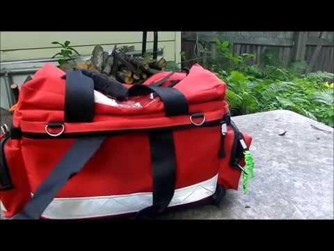 Kemp Professional Trauma Bag. The best First Responder bag? EMT bag/BLS EMS Jump Bag. Prepper bag