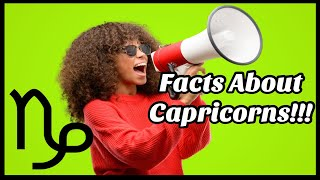 Capricorn Personality Traits Revealed| Interesting Capricorn Facts