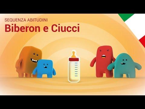 SEQUENZA ABITUDINI - Biberon e Ciucci - Bambini
