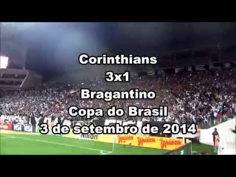 Veja a vibração da Fiel na vitória sobre o Bragantino