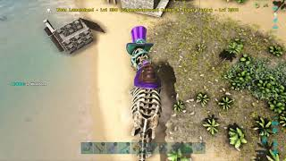ARK: Survival Evolved how to get wishbone and craft Turkey trail skin's.