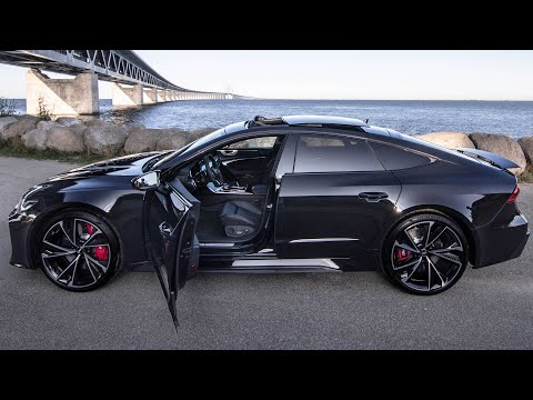 STUNNING 2021 AUDI RS7 - MOST BEAUTIFUL CAR EVER? BLACKED OUT V8TT 600HP BEAST - In Detail