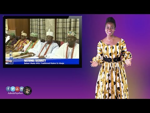 Buhari to Fight Insecurity With CCTV; Dino for Gov.; Smelly Fart at Kenyan Debate, Liberian Airport