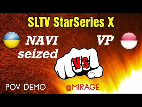 NAVI seized vs Virtus.Pro @mirage (POV) SLTV StarSeries X