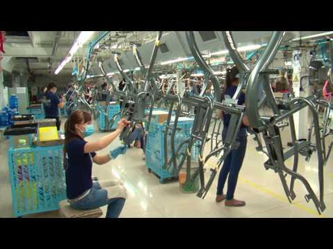Cách một chiếc xe dạp Asama ra đời