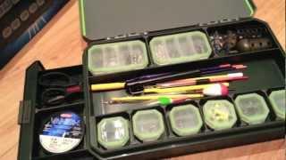 Greys Prodigy Tackle Base Compact Review - Klip-Lock Fishing Box