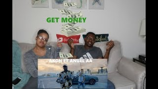 EL NEGREETO (AKON) & ANUEL AA - GET MONEY (OFFICIAL MUSIC VIDEO) REACTION
