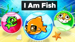 We're TRAPPED as a Fish in I Am Fish!