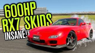 DRIFTING A 600HP MAZDA RX7 BUILD!? | Gran Turismo Sport