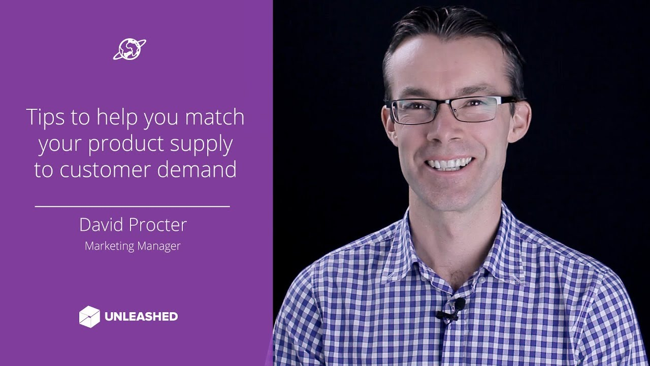 Tips to help you match your product supply to customer demand YouTube thumbnail image