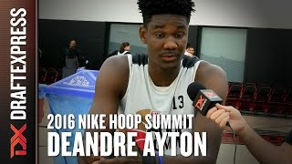 DeAndre Ayton - 2016 Hoop Summit - DraftExpress Interview by DraftExpress
