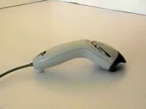 Honeywell Black Barcode Scanner