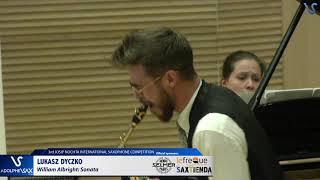 Lukasz Dyczko plays Sonate by William Albright
