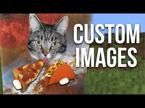 How to Add Custom Images in Minecraft