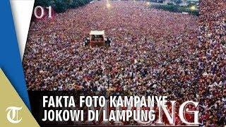 Viral Foto Kampanye Jokowi di Lampung bak Lautan Manusia, Ini Faktanya