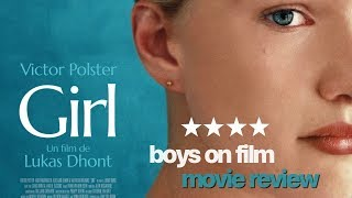 GIRL starring Victor Polster | Boys On Film MOVIE REVIEW