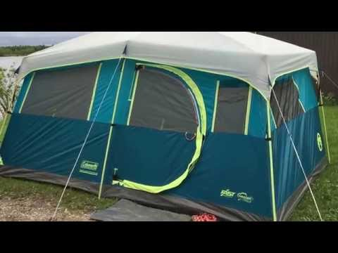 Coleman Tenaya Lake Fast Pitch 8P tent review