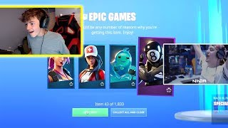 I GIFTED The SEASON 11 Battlepass To Fortnite Streamers...