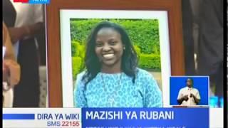 Aliyekuwa rubani ya ndege iliyoanguka Aberdares, Jean Murethi azikwa