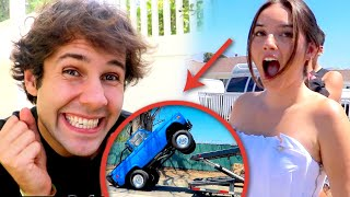 SHE CRASHED HER DREAM CAR!!