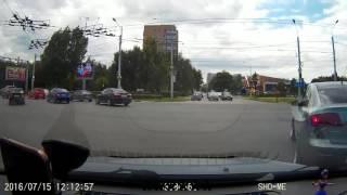 ДТП Рязань Приокский мост Московское шоссе