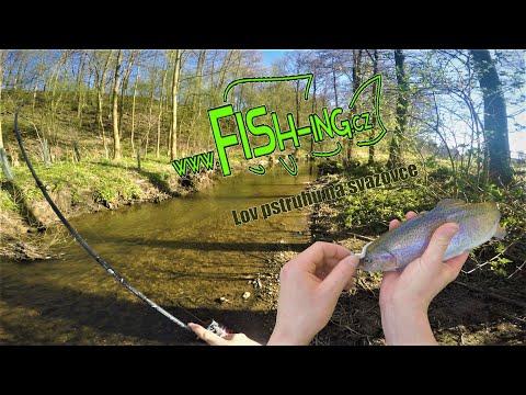 Lov pstruhů na svazovce (trout fishing) pouštějte v 108060p