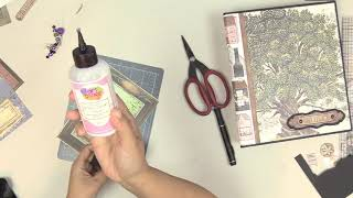 Decorating And Embellishing 101 - Mini Album Part 1