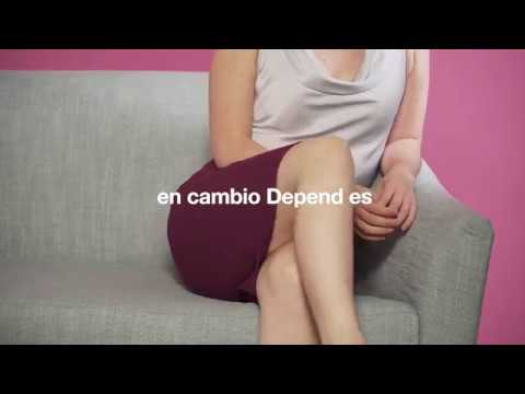 Depend® Ropa Interior Corte Bajo Youtube Video