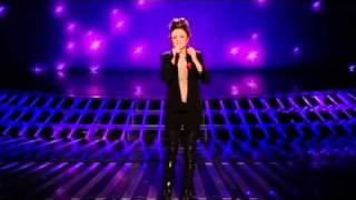 Cher Lloyd sings Everytime for survival  - The X Factor Live Semi-Final Results (Full Version)