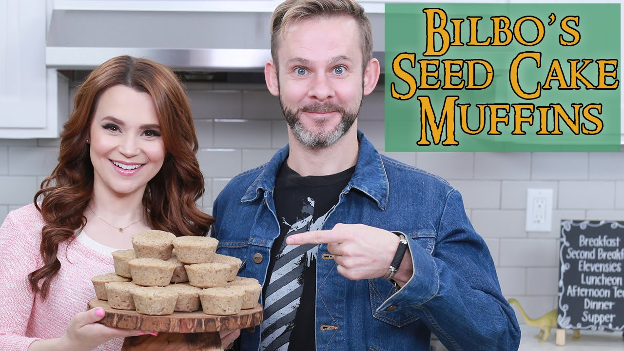 LORD OF THE RINGS HOBBIT MUFFINS ft Dominic Monaghan - NERDY NUMMIES thumbnail
