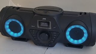 JVC Boomblaster RV-NB200BT Unboxing and sound check