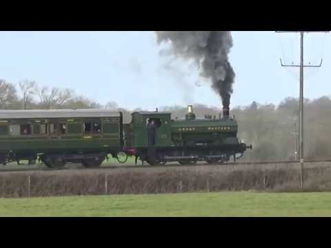 Steam on the Kent & East Sussex Railway 30th December 2017