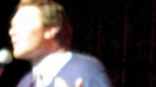 Clay Aiken - T&T Tour Build Me Up Buttercup - Cleveland, OH
