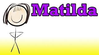 Matilda By Roald Dahl (Book Summary) - Minute Book Report
