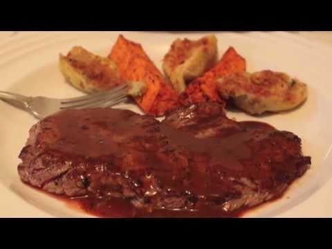 Minute Steak Recipe with BBQ Butter Sauce – Minute Steaks