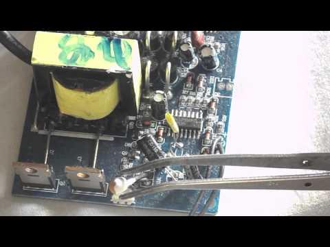 Конструкция преобразователя напряжения 12 в 220 Вольт (инвертор)