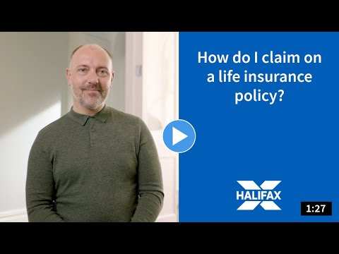 Video about how to claim on a life insurance policy.