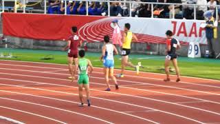 えひめ国体 成少共通男子4×100mリレー予選2組