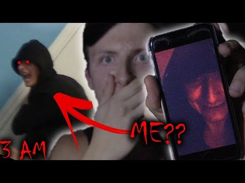 DO NOT FACETIME YOURSELF AT 3AM!! *EVIL TWIN CAME TO MY HOUSE