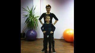 Фитнес мама. Тренировка и ребенок.Ника М.